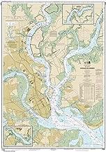 Paradise Cay Publications NOAA Chart 11524: Charleston Harbor, 34.7 X 49.5, TRADITIONAL PAPER