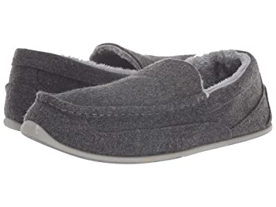 Deer Stags Spun Slipper (Dark Grey) Men