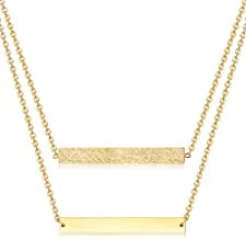 Best minimalist name necklace Reviews