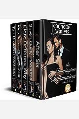 The Barrington Billionaires Collection: Books 6-10 Kindle Edition