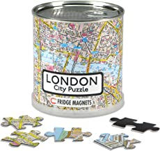 Extragoods London - City Puzzle Magnets in premium tin can