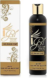 iGel Impeccable Soak Off Gel Polish Base Coat Refill Kit 8 fl oz