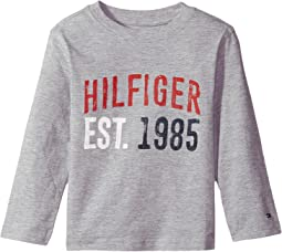 Tommy Hilfiger Kids - Hilfiger-Bex Jersey Long Sleeve Tee (Big Kids)