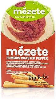 Mezete Dip & Go Roast Pepper Hummus, 92g,3246
