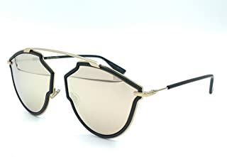 Cristian Dior DIORSOREALRISE 02M2 Black Gold Irregular Sunglasses for