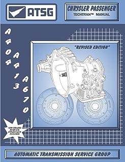 ATSG Chrysler A-404 através de eixos de transmissão automática manual da Techtran A-670
