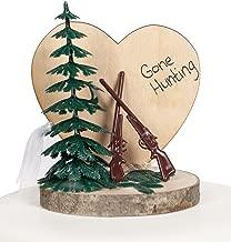 Gone Hunting Wedding Cake Topper