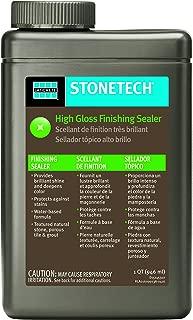 StoneTech High Gloss Finishing Sealer for Natural Stone, Tile, Grout, 1-Quart (.946L)