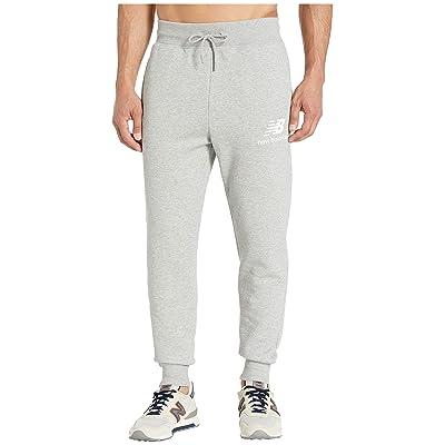 New Balance Essentials Logo Sweatpants (Athletic Grey) Men