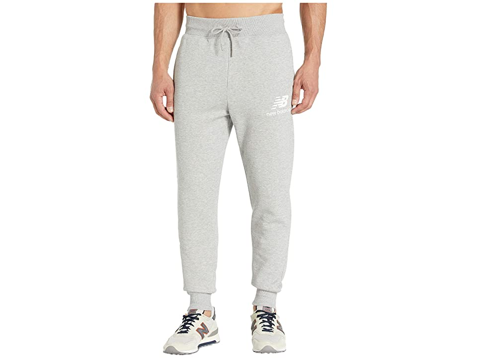 New Balance Essentials Logo Sweatpants (Athletic Grey) Men