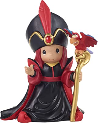 Precious Moments Disney Jafar Figurine, Multi