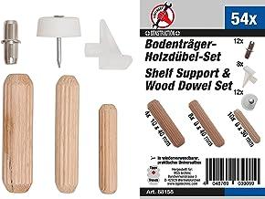 BGS Diy 88158   Plankdrager-/houtpluggenassortiment   54-delig