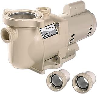 Pentair 340040 SuperFlo High Performance Single Speed Pool Pump, 2 Horsepower, 115/230 Volt, 1 Phase