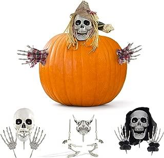 Prextex Halloween Pumpkin Accessories for Best Halloween Pumpkin Décor