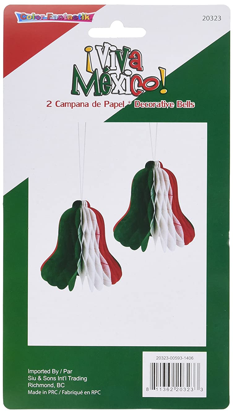 Kole Imports Viva Mexico Decorative Hanging Paper Bells