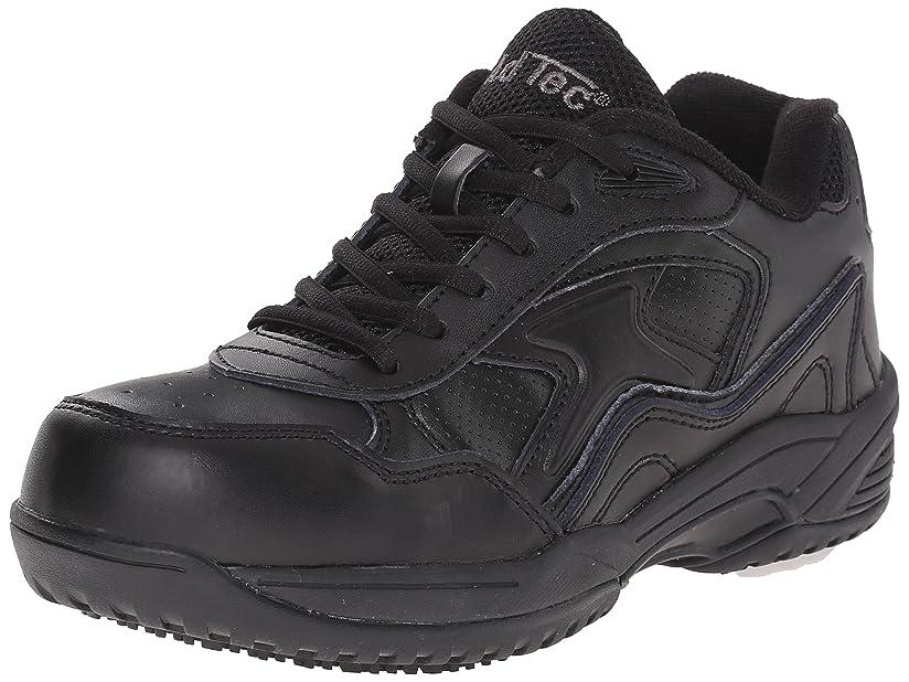 逃げる野なすきAdTec Women's Composite Toe Uniform Athletic Boot, Black, 10 M US