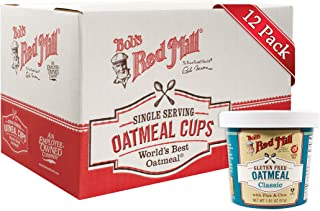 Bobs Red Mill Classic Oatmeal Cup, 1.81 Ounce - 12 per case.