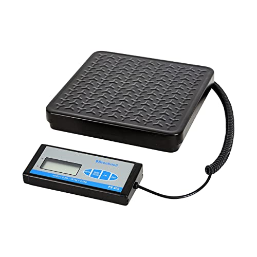 Amazon.com : Brecknell PS400 Portable Bench Scale; up to 400lb. Capacity, Perfect for Shipping, Warehouse applications Plus General Purpose Weighing ...