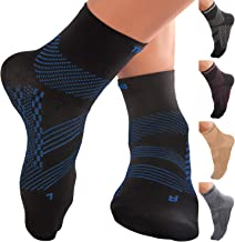 TechWare Pro Ankle Brace Compression Socks - Plantar Fasciitis Pain Relief Sock
