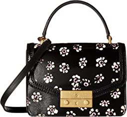 Tory Burch - Juliette Printed Mini Top-Handle Satchel