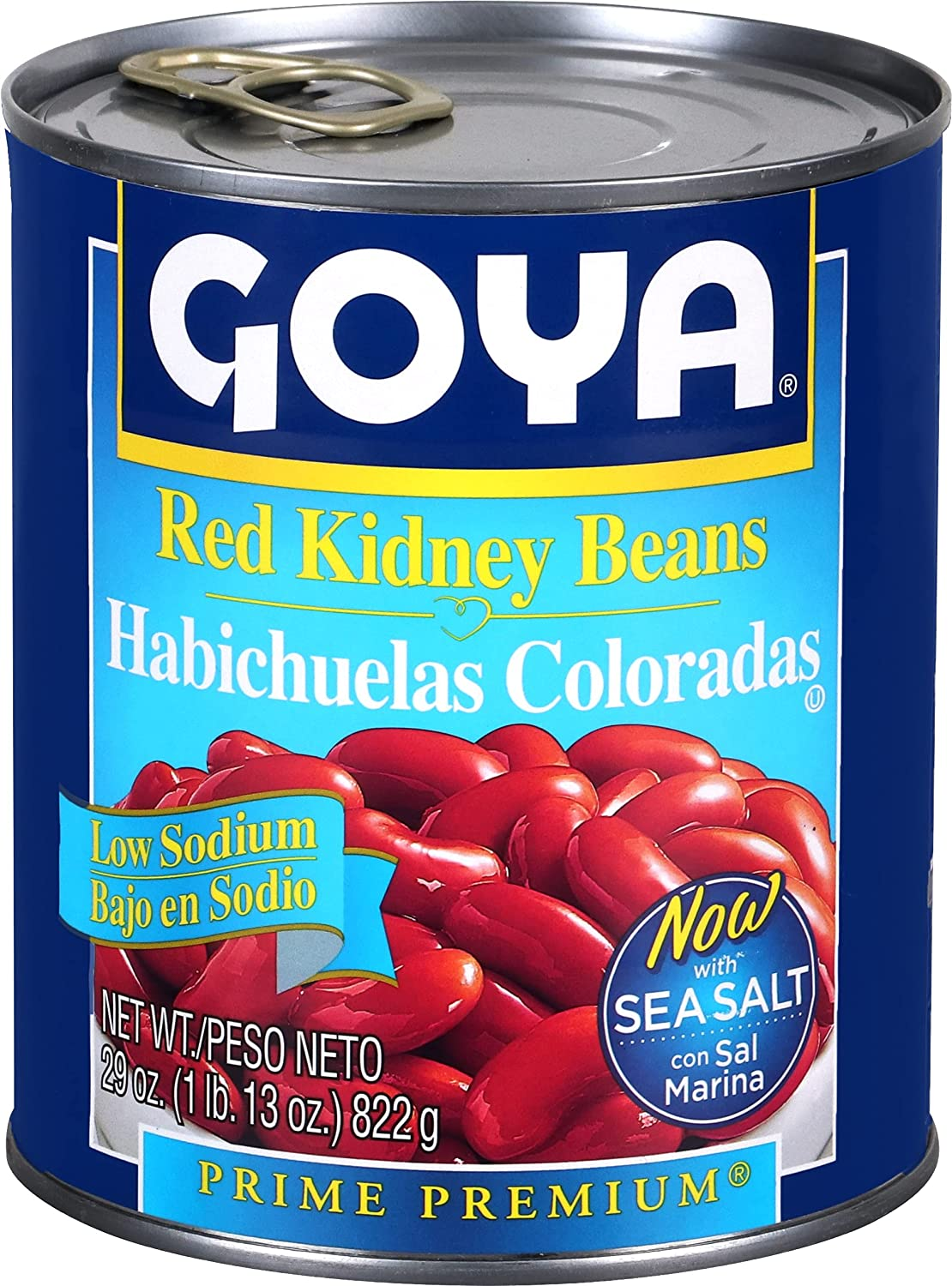 Goya Foods Low Cheap mail order specialty store Sodium Red Kidney of 29 Ounce Super sale 12 Beans Pack