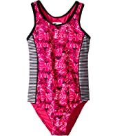 Roxy Kids - Pop Logo One-Piece (Big Kids)