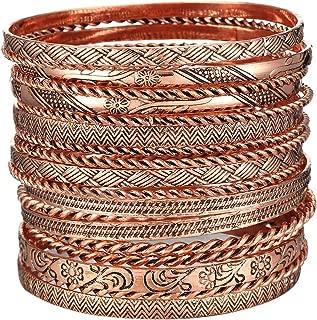 Best copper bangle set Reviews