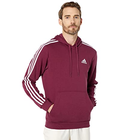 adidas Essentials Fleece 3-Stripes Pullover Hoodie