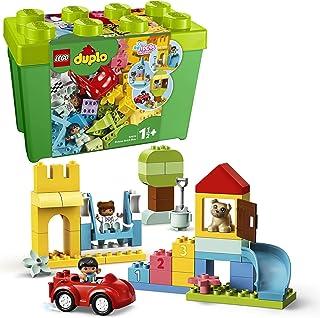 LEGO 10914 DUPLO Classic Klosslåda deluxe, Pedagogiska Leksaker, Leksaksförvaring, Leksak 1,5+ år