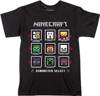 JINX Minecraft Character Select Boys' Tee Shirt