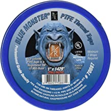 Millrose Blue Mill-Rose 70887 Monster PTFE Pipe Thread Sealant Tape, 1-Inch x 1429-Inches