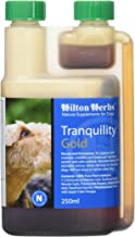 Hilton Herbs Tranquility Gold Calming Herbal Supplement for Dogs 0.5pt ( 250 ml) Bottle