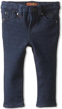 7 For All Mankind Kids - Skinny Jean in Indigo Ponte Knit (Infant)