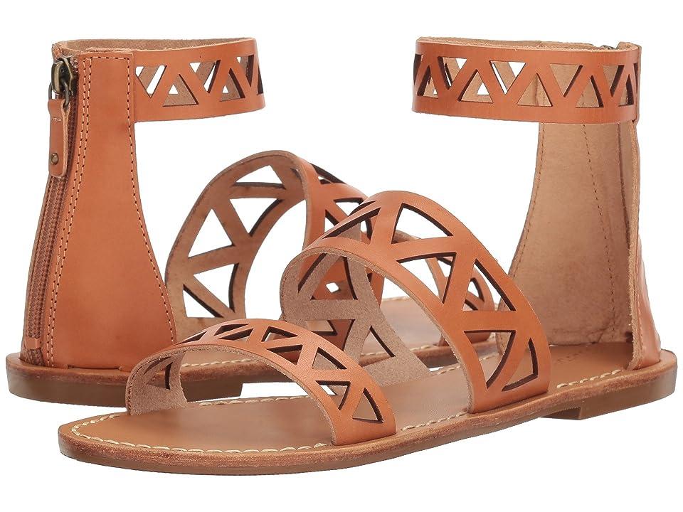 Soludos Geo Laser Cut Band Sandal (Sunburst) Women