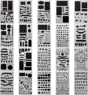 Amazoncom Stencils Templates Accessories Arts Crafts Sewing