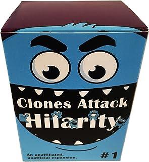 Apostrophe Games Clones Attack Hilarity, Paquete de expansión de 150 Cartas contra la Humanidad (Clones Attack Hilarity #1)