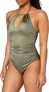 Marchio Amazon - Iris & Lilly Costume da Bagno Contenitivo Donna