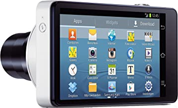 Factory Unlocked Samsung Galaxy Camera EK-GC100 8GB White, Android OS, v4.1 (Jelly Bean) 3G Unlocked HSDPA 850 / 900 / 1900 / 2100 (International Version - No Warranty)