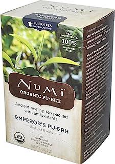 NUMI TEA TEA,OG2,EMPEROR'S PUERH, 16 BAG Pack of 3