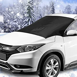 Windshield Snow & Ice Cover, Waterproof, sun protection For All Cars, Trucks, SUVs, MPVs, with Magnetic (47