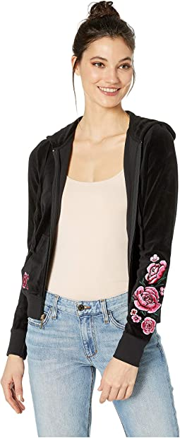 Velour Floral Enchantment Robertson Jacket