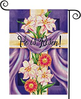 He Is Risen Sign Tree Topper For Easter Trees