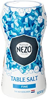 NEZO Fine Table Salt, Blue, 600 gm, FFAD229