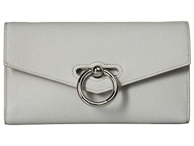 Rebecca Minkoff Jean Wallet On Chain (Ice Grey) Wallet Handbags