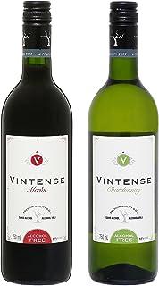 【ノンアルコール ワイン】赤白750ml2本セット ヴィンテンス メルロー(赤)&ヴィンテンス シャルドネ(白)