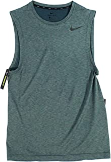 NIKE Men's Dry Breathe Hyper Muscle Sleeveless Shirt