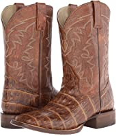 Roper - Embossed Exotic Square Toe Boot