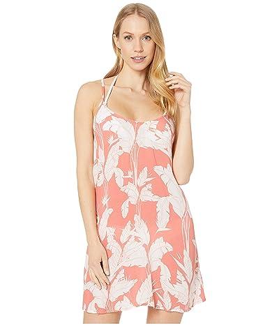 Roxy Print Be in Love Dress (Terra Cotta Flying Flowers) Women