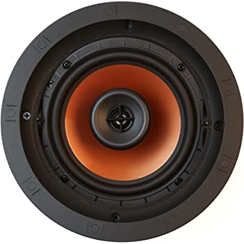 Amazon Com Klipsch Cdt 5650 C Ii In Ceiling Speaker White Each Home Audio Theater