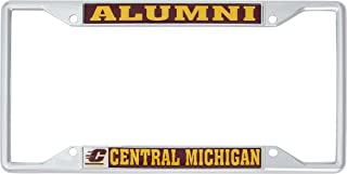 Desert Cactus Central Michigan University Metal License Plate Frame for Front Back of Car Officially Licensed (Alumni)